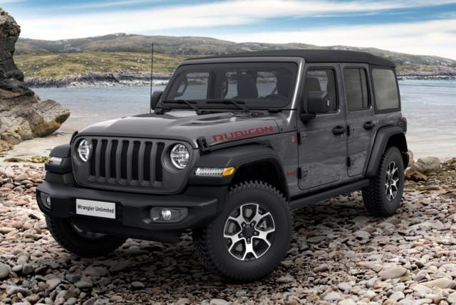 Jeep Wrangler Unlimited - Unlim 2.0 270 Rubicon Leder LED Nav Kam
