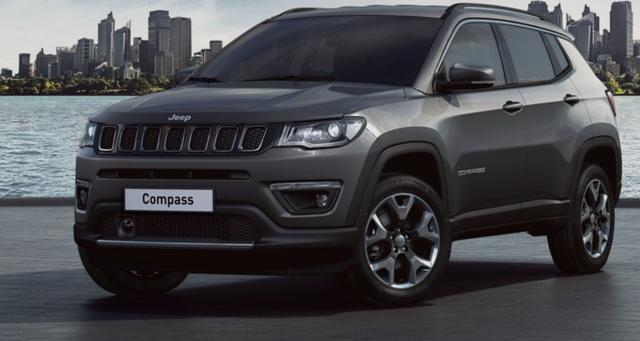 Jeep Compass - 1.4 170 Aut Lim AWD Nav&Beats Park Leder