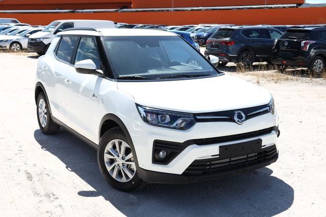 Lagerfahrzeug Ssangyong Tivoli - 1.5 T-GDI Quarz Nav PDC Klima Kam BT 16Z
