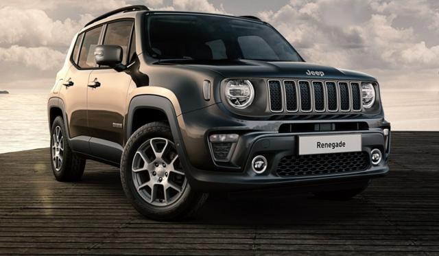 Jeep Renegade - 1.3 T-GDI 150 Limited Aut. LED Kam PDC