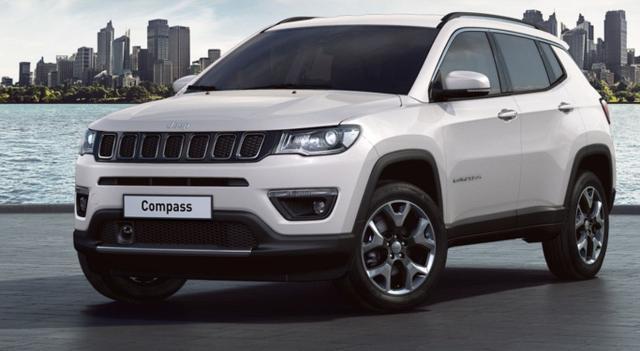 Vorlauffahrzeug Jeep Compass - 1.4 170 Aut Lim AWD Nav&Beats ParkP Xen