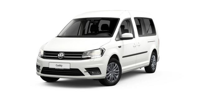 Volkswagen Caddy Maxi - 1.4 TGI 110 7-S Nav Kam Temp Klimaaut