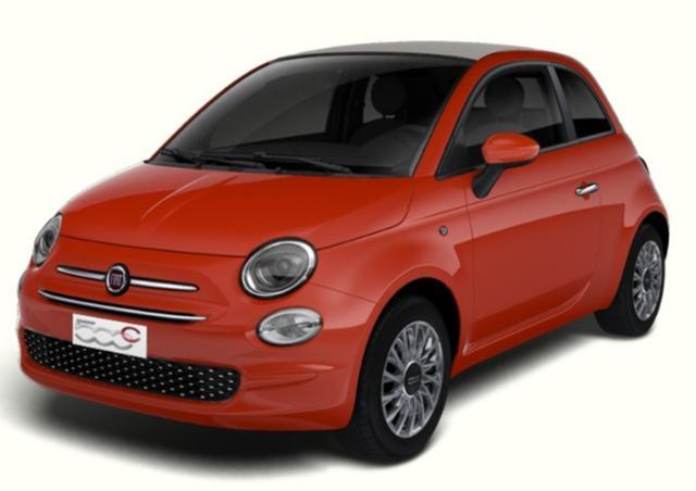 Lagerfahrzeug Fiat 500C - 1.2 Dualogic Lounge Carplay Klimaaut Tempom