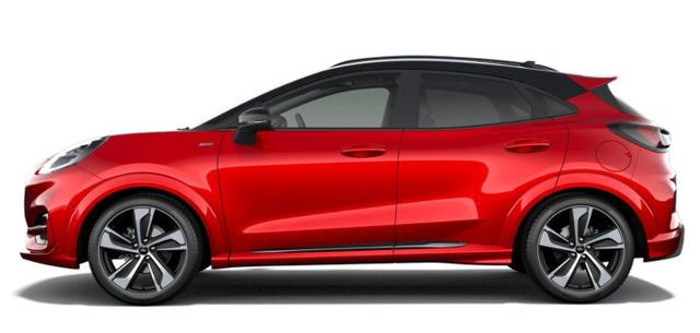 Ford Puma - 1.0 EB 125 Hybrid ST-Line LED Nav SHZ VirCo