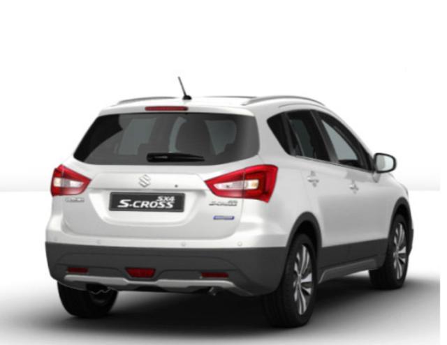 Suzuki SX4 S-Cross - 1.4 Hybrid 129 4WD Comfort+ LED ACC
