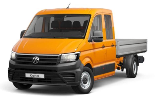Volkswagen Crafter - 2.0 TDI 140 Pritsche DoKa 35 L2 AHK Klim
