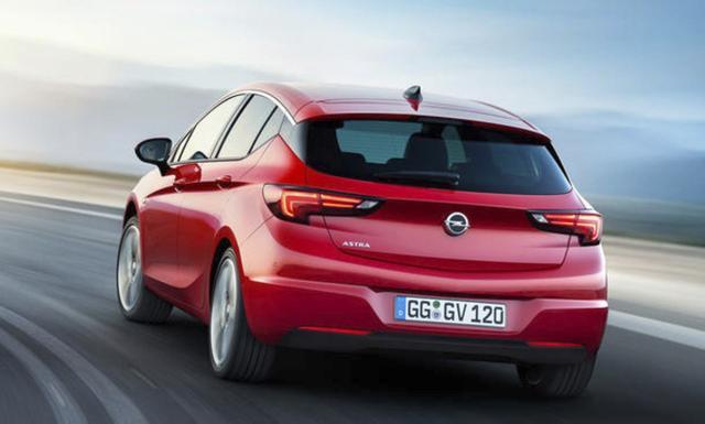 Opel Astra - K 1.2 Turbo 110 LED PDC Temp IntelliL