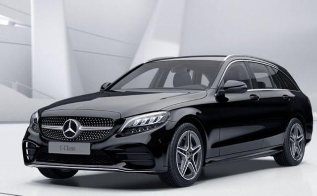 Gebrauchtfahrzeug Mercedes-Benz C-Klasse - C 220 d T Aut AMG Line SpiegelP el.Heck AblageP