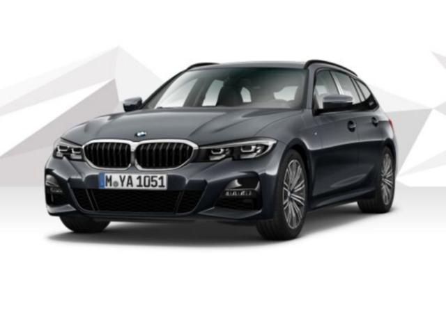 Gebrauchtfahrzeug BMW 3er Touring - 320d 190 Aut M-Sport LED Nav HIFI PrivG