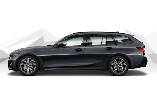 BMW 3er Touring - 320d 190 Aut M-Sport LED Nav HIFI