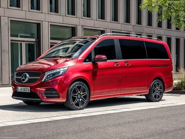 Vorlauffahrzeug Mercedes-Benz V-Klasse - V 250 d Sport Avantgarde lang 7-S LED Einzelsitz