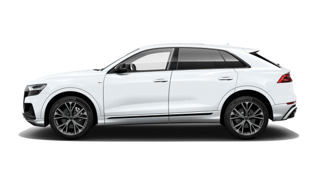 Audi Q8 - 55 TFSI 340 quattro Matrix BlackP PanoD Nav+