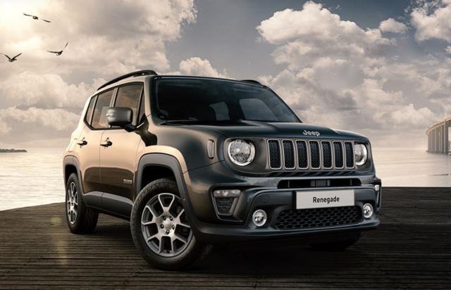 Jeep Renegade - 1.3 T-GDI 150 Aut Limited Nav Keyl