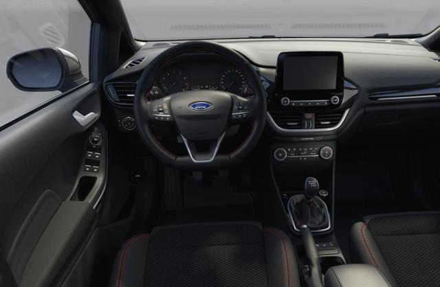 Ford Fiesta 1.0 EcoBoost 125 DCT MHEV ST-Line LED Nav