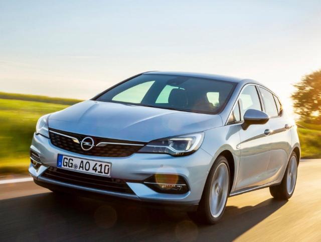 Opel Astra - 1.5 CDTI 122 GS Line LED Kam PDC Temp
