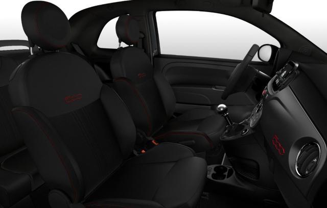 Fiat 500C 1.0 GSE 70 Hybrid Sport Nav PDC PrivG Temp