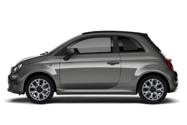 Fiat 500C - 1.0 GSE 70 Hybrid Sport Nav PDC PrivG Temp