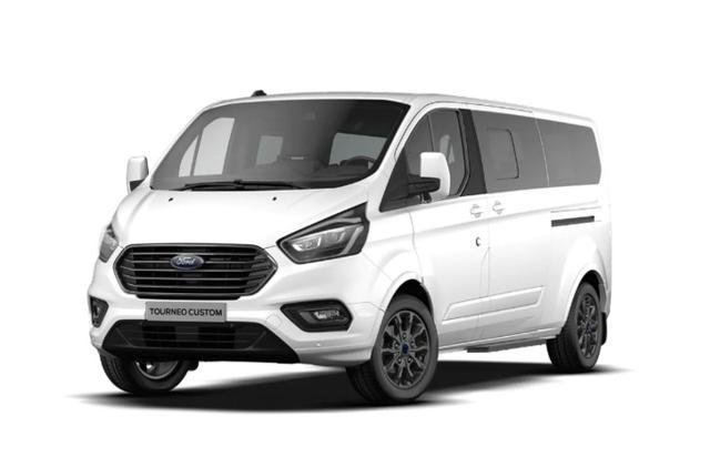 Vorlauffahrzeug Ford Tourneo Custom - 2.0 TDCi 185 TitX MHEV L2 8S ACC