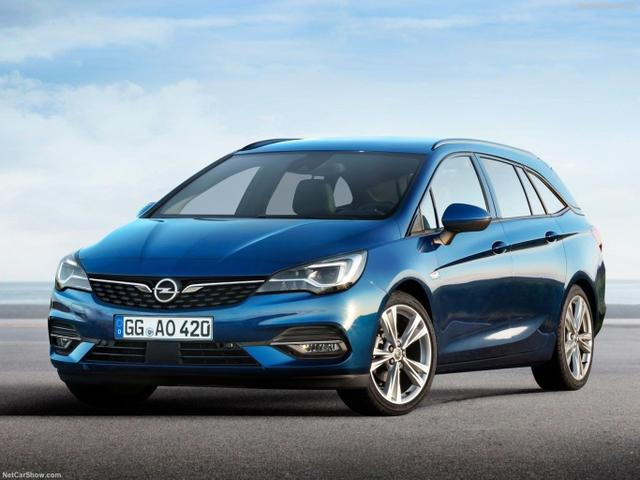 Opel Astra Sports Tourer - ST 1.5 Aut. 122 Business Eleg. 17Z Matrix