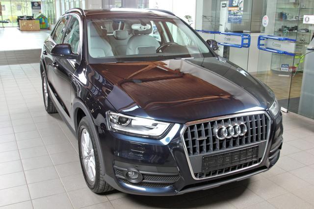 Gebrauchtfahrzeug Audi Q3 - 2.0 TFSI quattro, Xenon, Navi, Leder, Sitzheizung