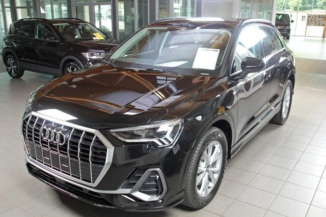 Audi Q3 - 40 TFSI quattro S-Tronic S-LINE, Navi, AHK, el. Klappe, LED, sofort