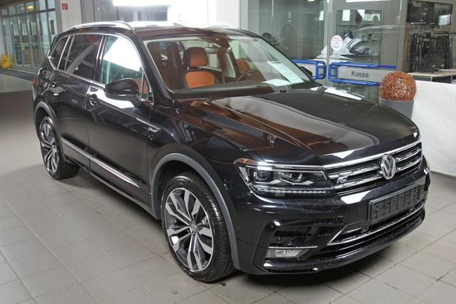 Volkswagen Tiguan - Allspace 2.0 TDI DSG Leder bicolor, R-LINE, Highline, 20-Zoll
