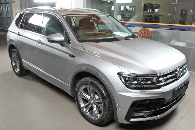 Volkswagen Tiguan Allspace - 2.0 TSI DSG 4-Motion, R-LINE, Highline, 7-Sitzer, AHK Vorlauffahrzeug