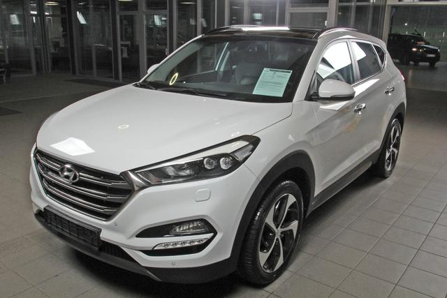 Gebrauchtfahrzeug Hyundai Tucson - 2.0 CDRi 4WD Premium, Leder, Pano, Navi, Xenon, Kamera, abnehm. AHK