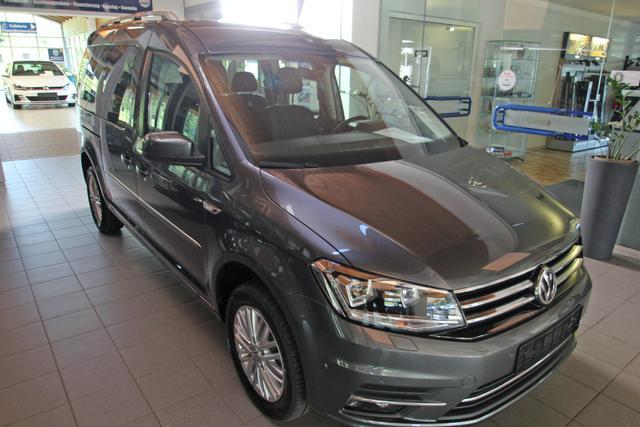 Volkswagen Caddy Maxi - 1.4 TSI DSG Highline, 7-Sitzer, Xenon, Navi, Kamera, Teilleder Vorlauffahrzeug