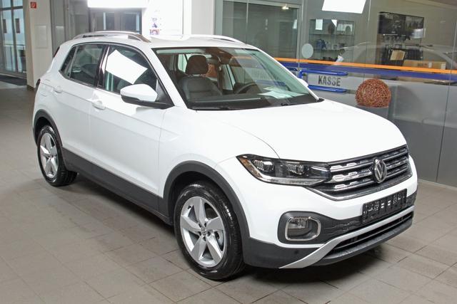Volkswagen T-Cross - 1.0 TSI Style, LED, Kamera, Bluetooth, ACC, Winterpaket