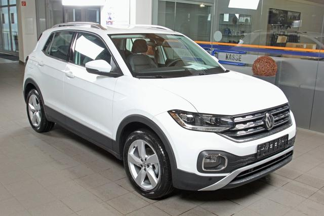 Volkswagen T-Cross - 1.0 TSI Style, LED, Kamera, Bluetooth, ACC, Winterpaket Vorlauffahrzeug