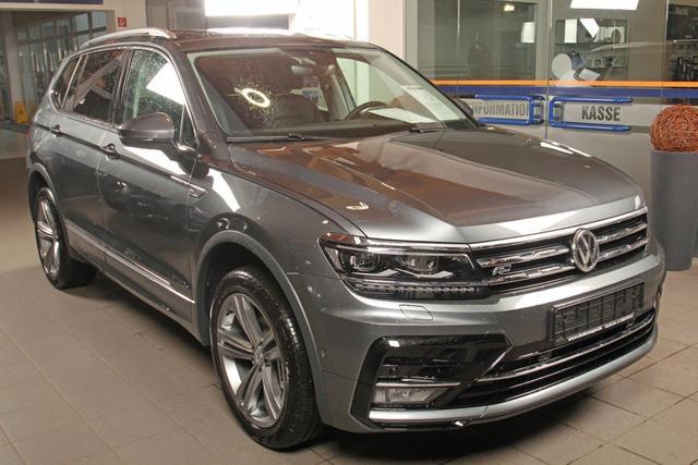 Volkswagen Tiguan - Allspace 2.0 TSI DSG 4-Motion,R-LINE, Highline, Leder, AHK, sofort