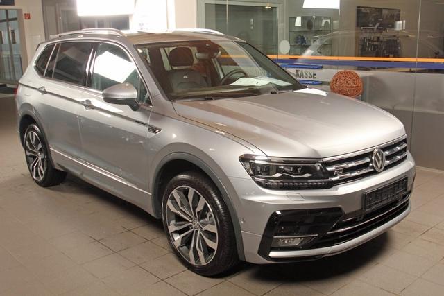 Volkswagen Tiguan Allspace - 2.0 TSI DSG 4-Motion, 2x R-LINE, Leder, Pano Vorlauffahrzeug