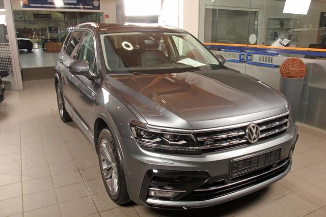 Volkswagen Tiguan - Allspace 2.0 TSI DSG 4-Motion, R-LINE, Highline, Leder, AHK, sofort