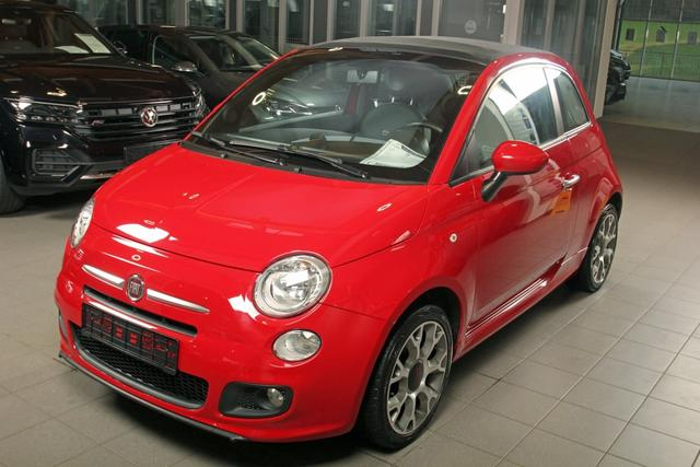 Gebrauchtfahrzeug Fiat 500C - 500 C 1.2 Cabriolet, Bluetooth, Klima, Einparkhilfe