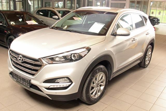 Gebrauchtfahrzeug Hyundai Tucson - 1.6 GDi Style, Navi, PDC, Sitzheizung vo. und hi., Tempomat, AHK