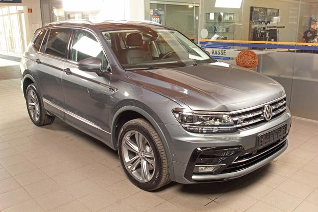 Volkswagen Tiguan - Allspace 2.0 TSI DSG 4-Motion, R-LINE, Highline, Leder, AHK, 7 Sitze
