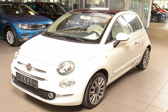 Gebrauchtfahrzeug Fiat 500 - 1.2 8V Lounge Automatik, Panoramadach, Bluetooth, Klima, Tempomat