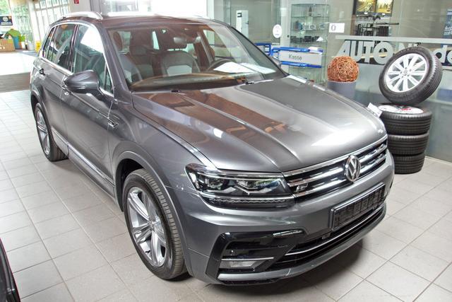 Volkswagen Tiguan - 2.0 TDI DSG 4-Motion 2 x R-LINE, AHK, Kamera, DAB, Navi, sofort Vorlauffahrzeug