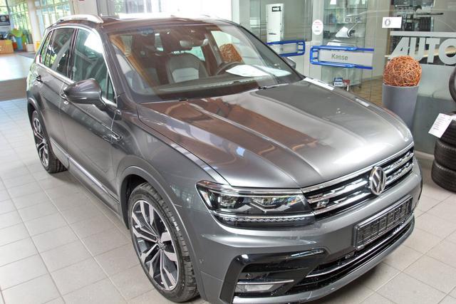 Volkswagen Tiguan - 2.0 TDI DSG 4-Motion R-LINE, 20-Zoll, Pano, SideAssist Vorlauffahrzeug
