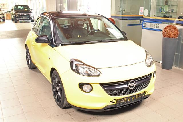 Gebrauchtfahrzeug Opel Adam - 1.0 Turbo Slam, Bluetooth, 17-Zoll schwarz, Panorama