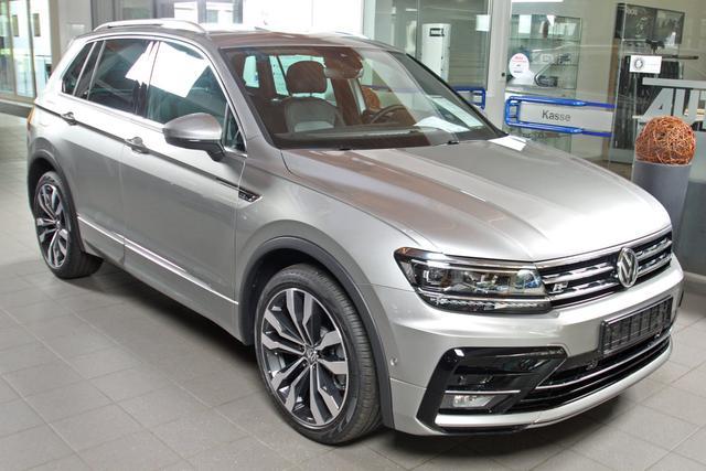Volkswagen Tiguan - 2.0 TDI DSG 4-Motion R-LINE, AHK, 20-Zoll, Pano, SideAssist Vorlauffahrzeug