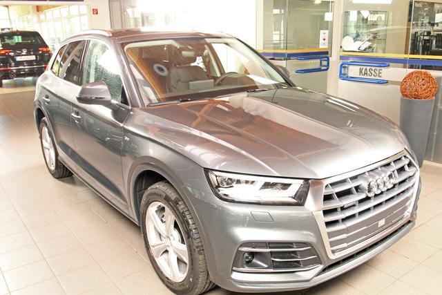 Audi Q5 - sport 40 TDI quattro S-Tronic, S-LINE, AHK, virtual, Tour, sofort