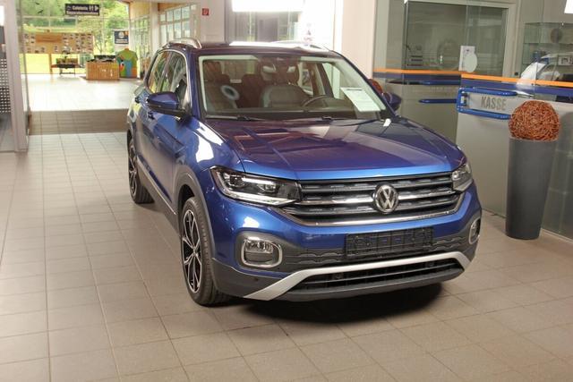 Volkswagen T-Cross - 1.0 TSI DSG Style, AHK, Navi, Kamera, LED, DAB, ACC