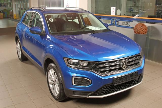 Volkswagen T-Roc - 1.5 TSI DSG Style, Kamera, Navi, LED, ACC, 17-Zoll, DAB, el. Klappe