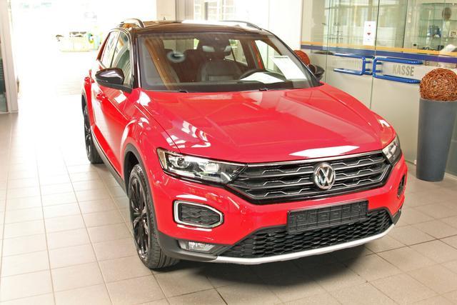 Volkswagen T-Roc - Sport 2.0 TSI DSG 4-Motion, Black Style, Kamera, 18 Zoll schwarz Vorlauffahrzeug