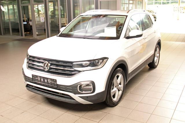 Volkswagen T-Cross - 1.0 TSI Style, LED, Navi, Kamera, Bluetooth, ACC, Winterpaket Vorlauffahrzeug