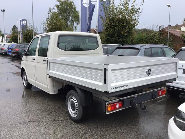 Volkswagen Transporter 6.1 Kastenwagen - T6.1 Pritsche DoKa 2.0 TDI BMT LR, AHK, Bluetooth, Climatic Vorlauffahrzeug