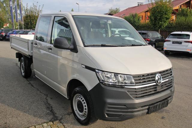 Volkswagen Transporter 6.1 Kastenwagen - T6.1 Pritsche DoKa 2.0 TDI BMT LR, Bluetooth, Climatic Vorlauffahrzeug