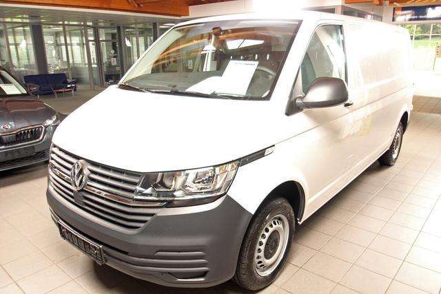 Volkswagen Transporter 6.1 Kastenwagen - T6.1 2.0 TDI DSG 4-Mot. Kasten LR, Heckflügel, 3er Sitzbank Vorlauffahrzeug